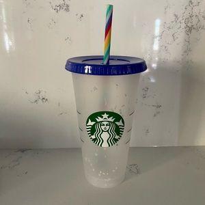 NWT Starbucks confetti cup!!
